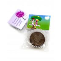 St. Valentine's Day Шоколад с предсказанием с открыткой