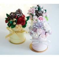 Шоколадная коробка с цветами