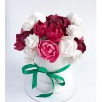 Шоколадная цветочная коробочка №2