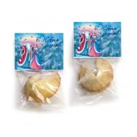50 шт печенья с предсказаниями с Новогодней открыткой