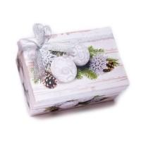 Новогодняя коробка с печеньем - БОЛЬШАЯ