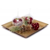 Яблоки в карамели в креманках