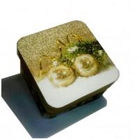 СРЕДНЯЯ - Новогодняя коробка с печеньем