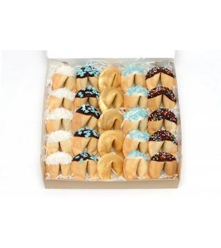 Набор из 25 шт. печенья с предсказанием в глазури №1