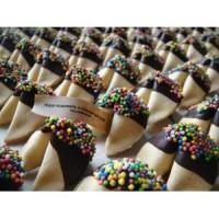100 шт. печенья с предсказаниями в глазури
