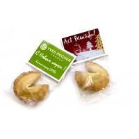 100 шт. печенья с вашим логотипом