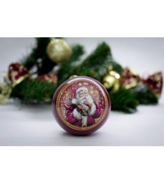 """Новогодний шар """"Санта"""" и 3 шт. печенья с предсказанием"""