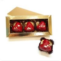Набор Шоколадных Сердец с предсказаниями