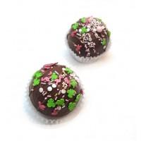 Шоколадные бомбочки с маршмеллоу