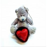 Мишка Тедди и шоколад с предсказанием для Тебя.